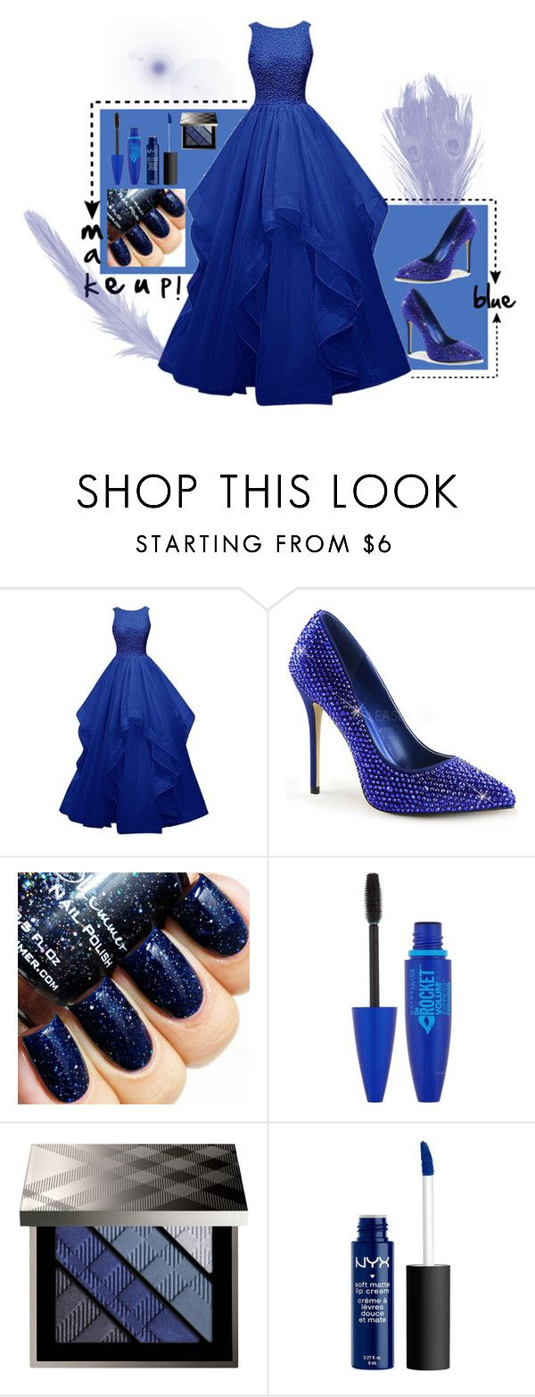 """Untitled #206"" by fgasyhd ❤ liked on Polyvore featuring Maybelline, Burberry, women's clothing, women, female, woman, misses and juniors"