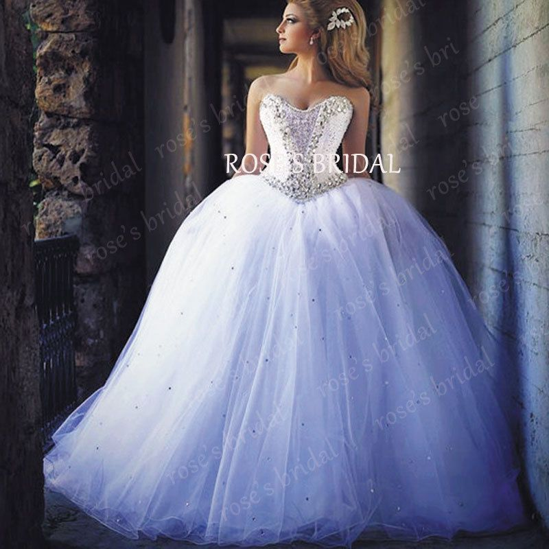 Free Shipping] Buy Best Gorgeous Princess Wedding Ball Gown Tulle ...