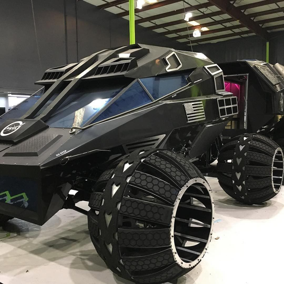 Nasa unveils visionary Mars rover which could be future of transport on Red Planet #conceptcars