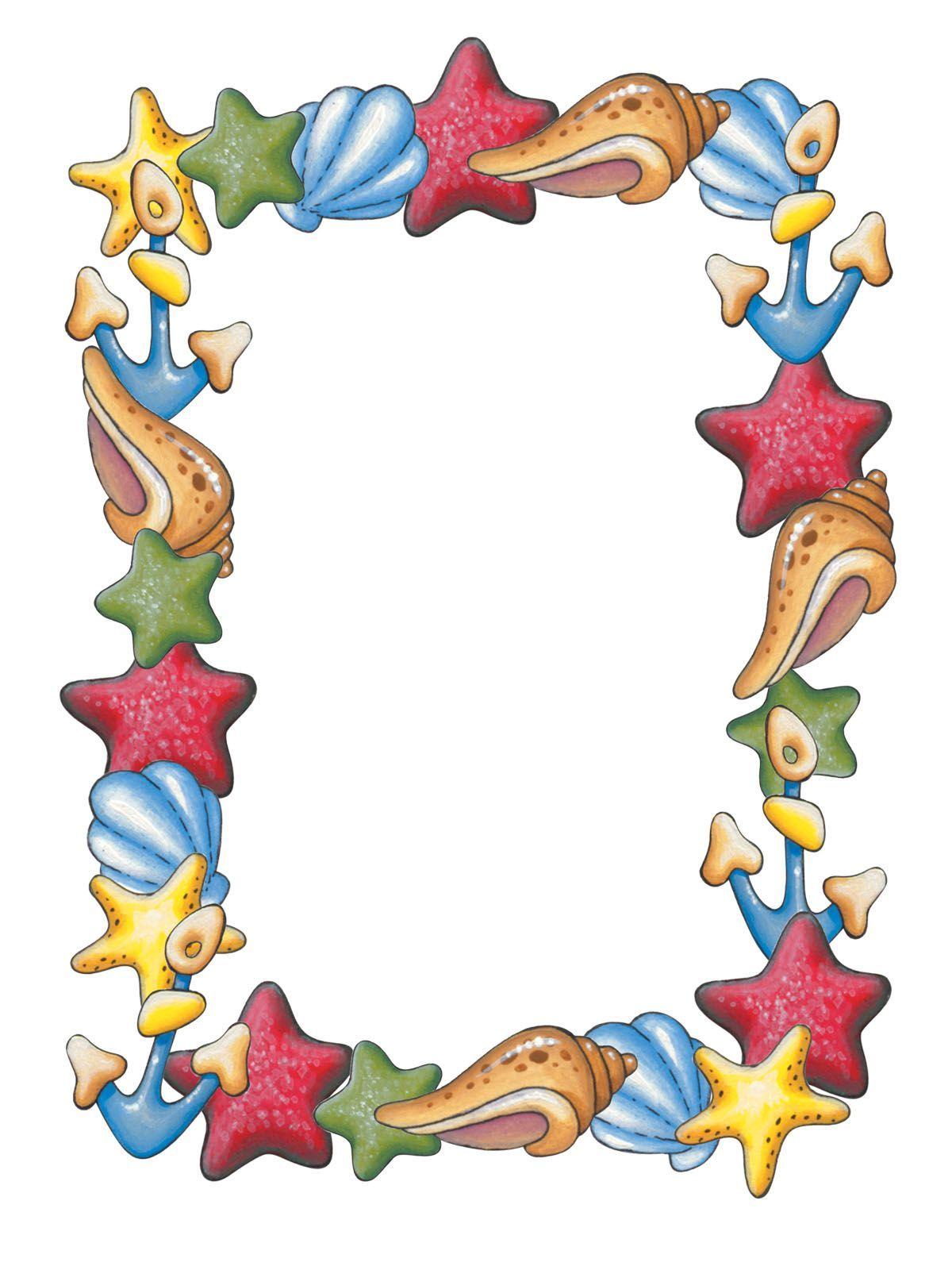 recursos de educacion infantil proyecto pirata summer rh pinterest ie summer flower border clip art summer border clip art free