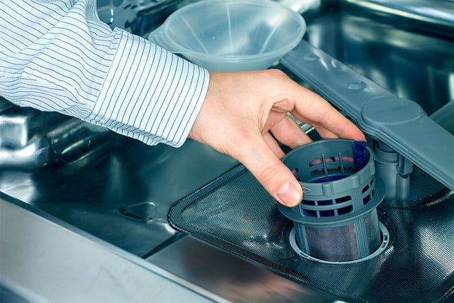 5 Common Dishwasher Problems And How To Fix Them Clean Dishwasher Dishwasher Filter Dishwasher Wont Drain