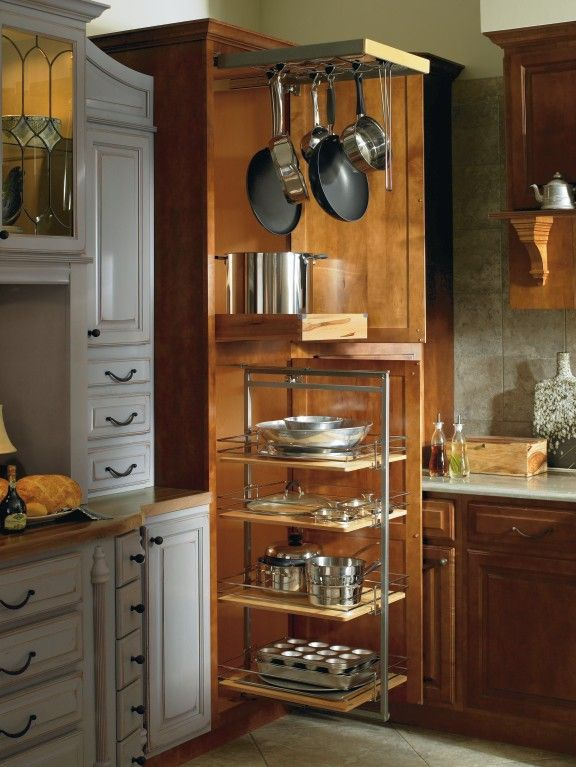 pots and pans pantry pull out - Google Search