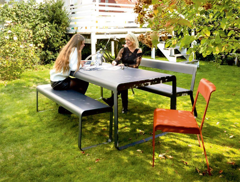 Table Bellevie, table de jardin, table jardin 8 personnes ...