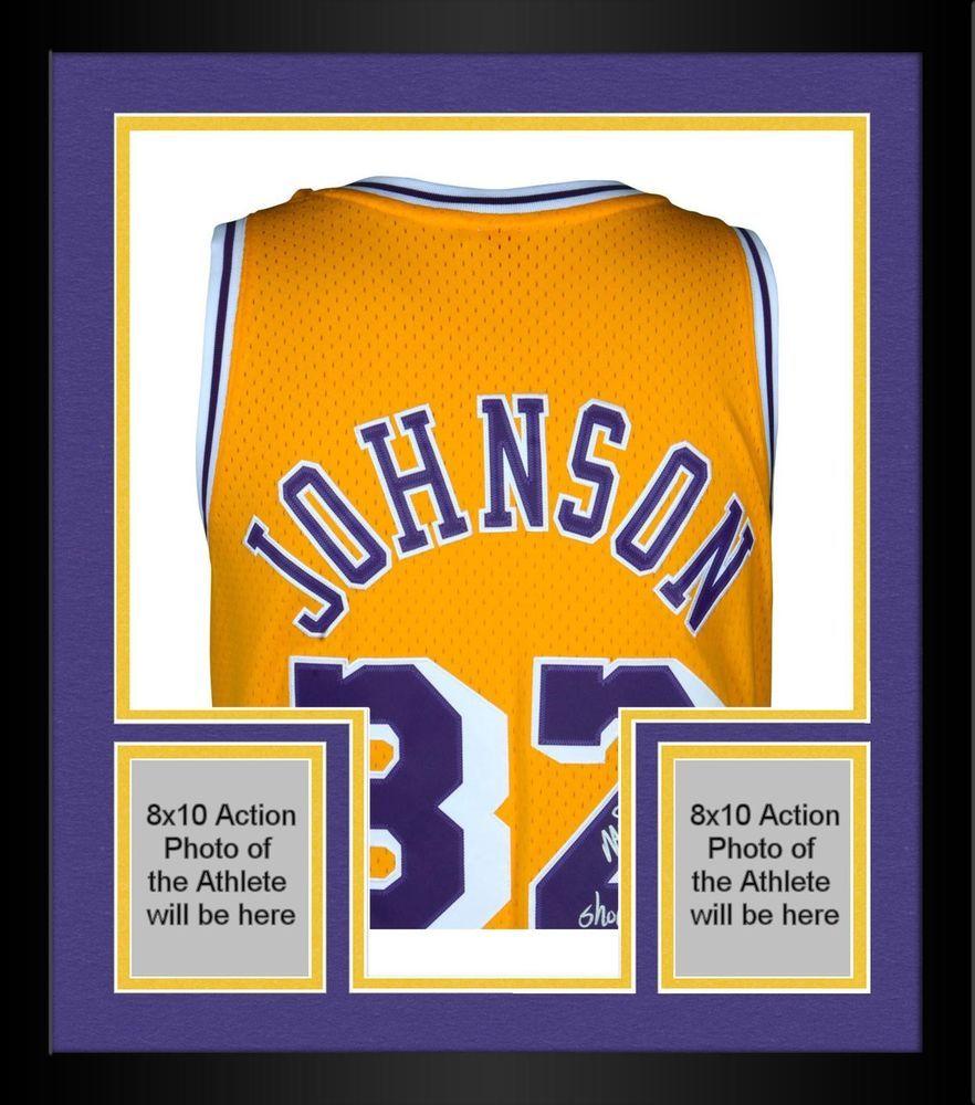 c3c2e52f478 Autographed Magic Johnson Lakers Jersey Fanatics Authentic COA Item#4234970