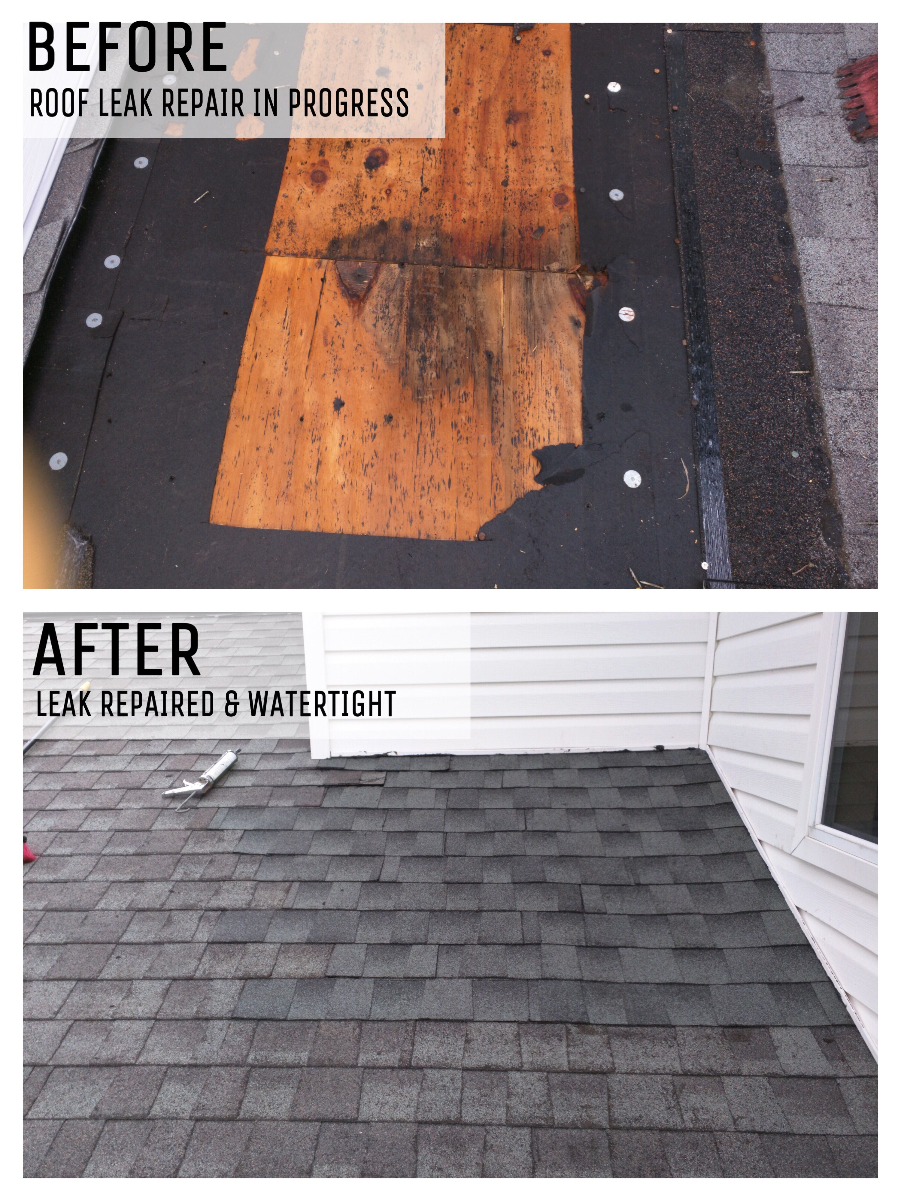 Residential Home Shingle Roof Leak Repairs Roof Leak Repair Leak Repair Leaking Roof