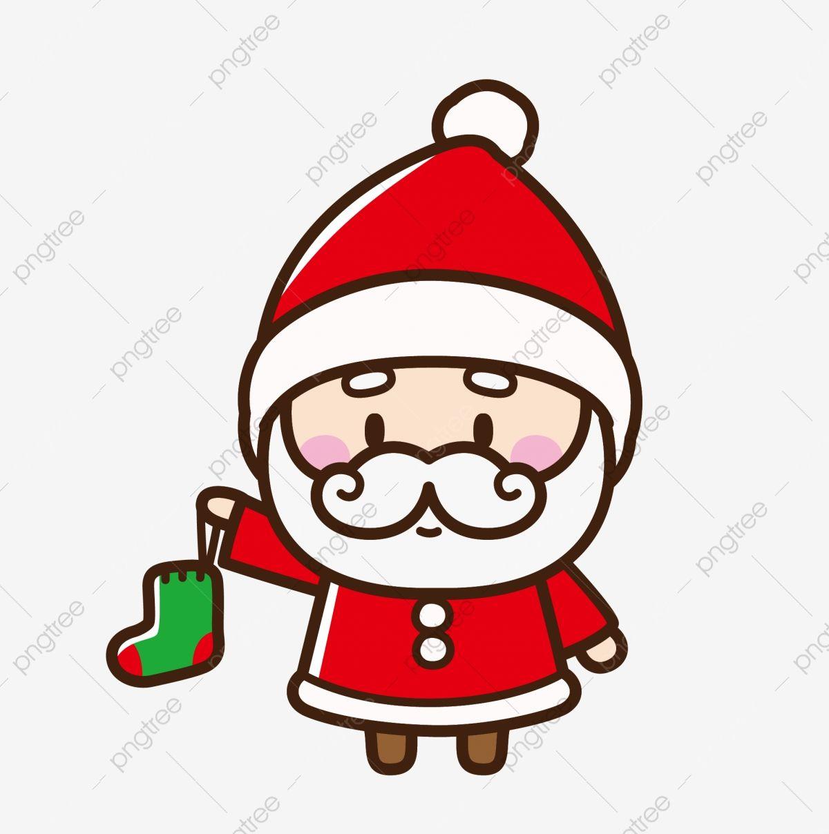 Santa Claus Creative Cartoon Pintado A Mano Png Y Vector Para Descargar Gratis Pngtree Dibujo De Navidad Cartel De Halloween Papa Noel Dibujo