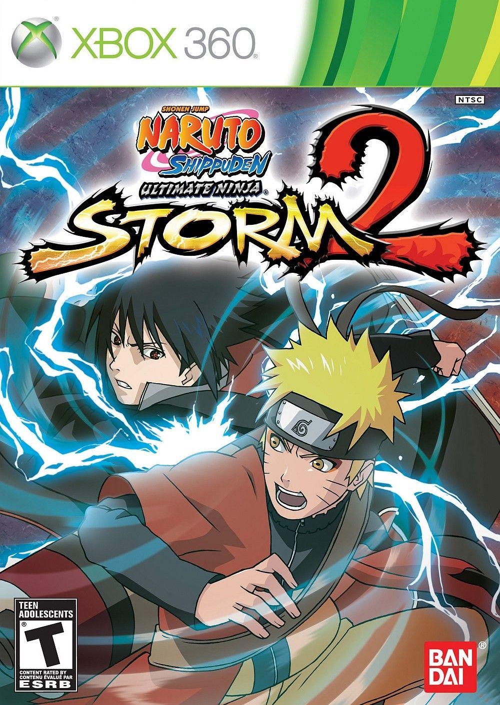 Naruto Shippuden Ultimate Ninja Storm 2 Naruto Naruto Shippuden Xbox 360