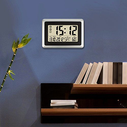 By Led Fixtures Led Fixtures Created A Magazine On Flipboard Top 10 Best Led Wall Clock Battery Operat Led Wall Clock Digital Wall Large Digital Wall Clock