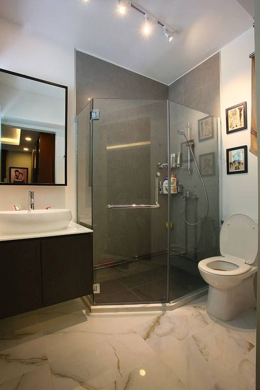 Modern #bathroom #design #singapore #hdb #interior #shower Cool Hdb Bathroom Design Review