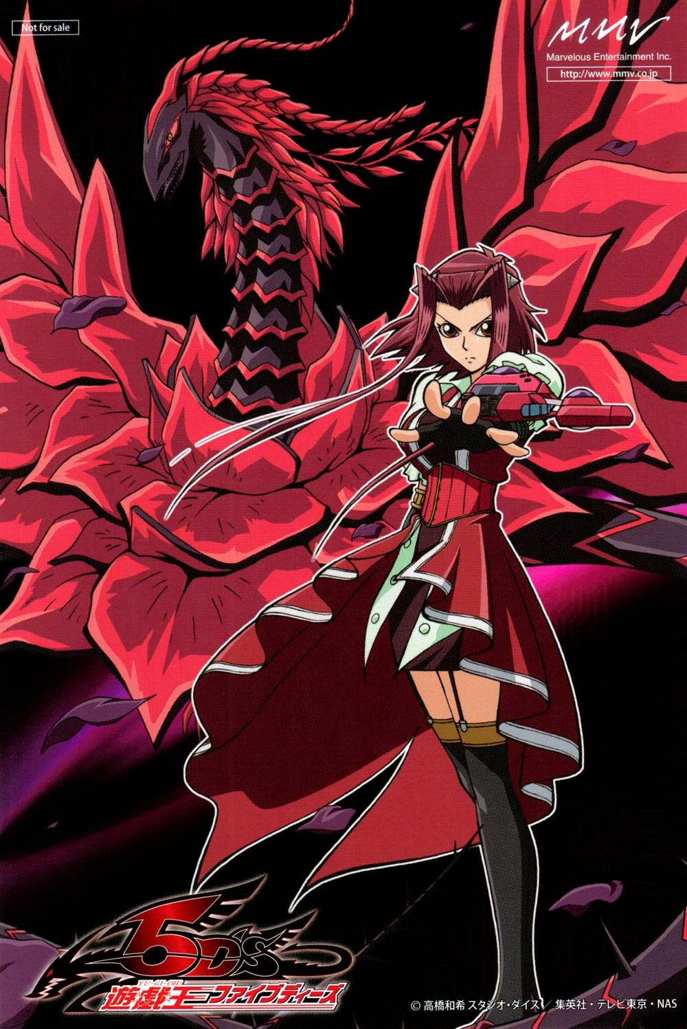 Drago rosa nera delirio puro yu gi oh ragazze anime draghi y