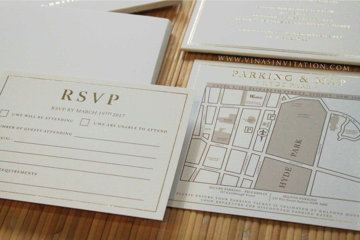 Vinas invitation. Custom invitation. Custom design. Simple