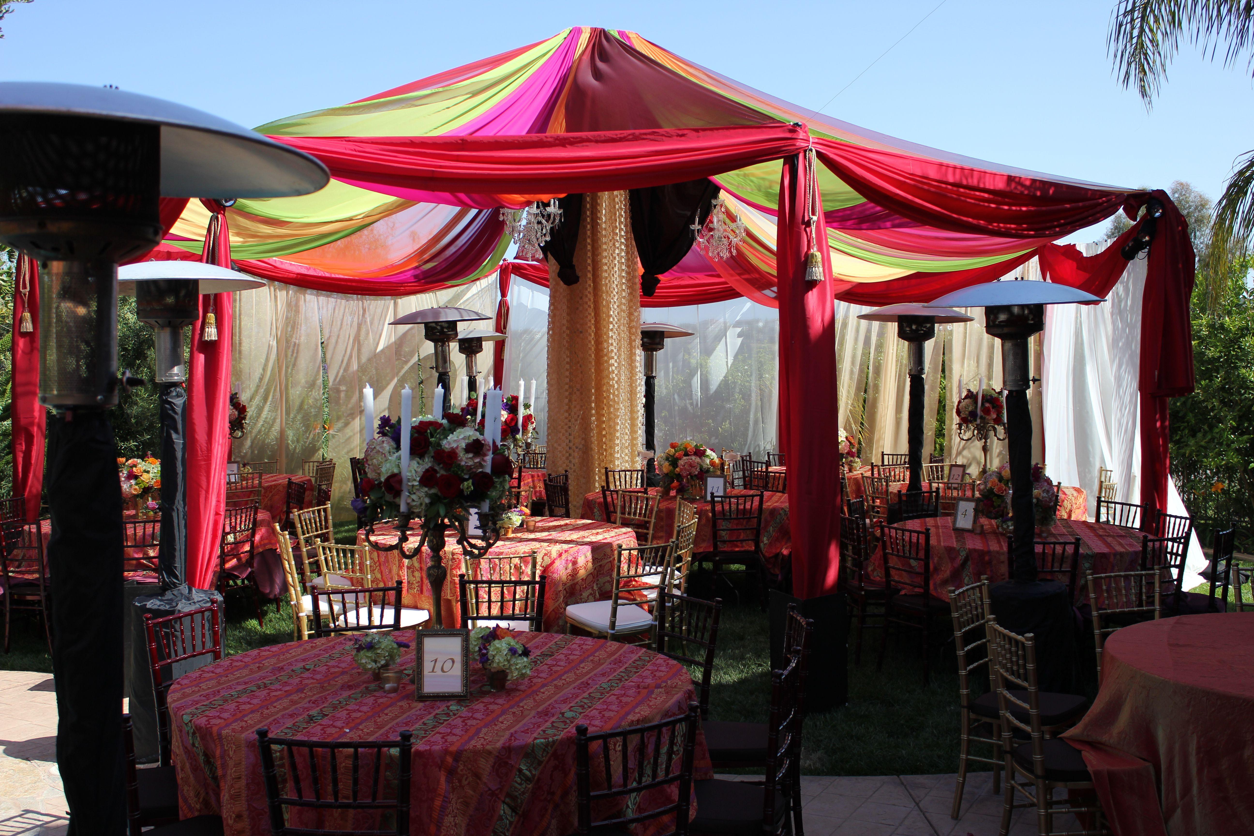 multicolor tent/drapes | Drapes and Tents | Pinterest | Tents