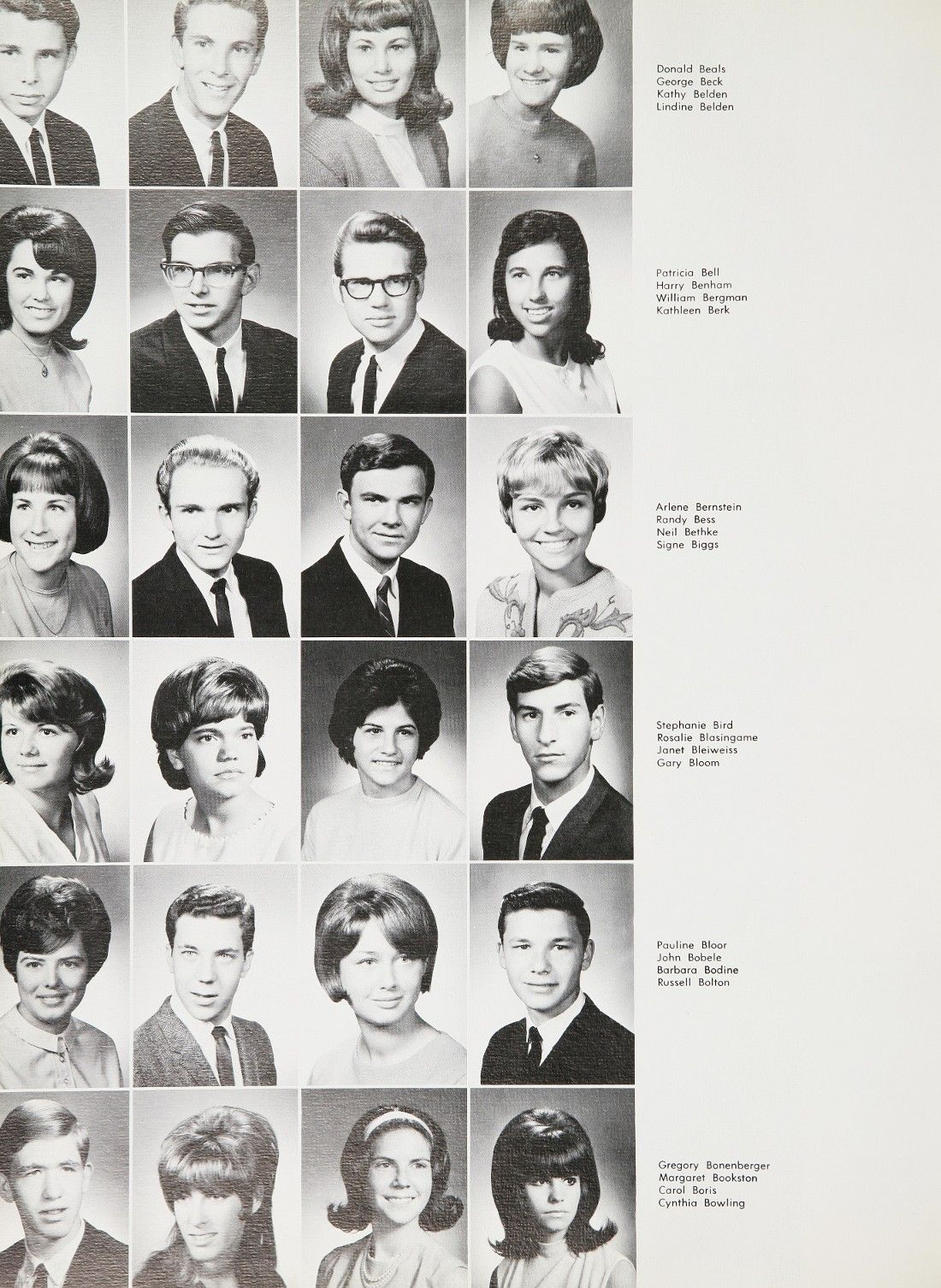1966 Grover Cleveland High School Yearbook Via Classmates