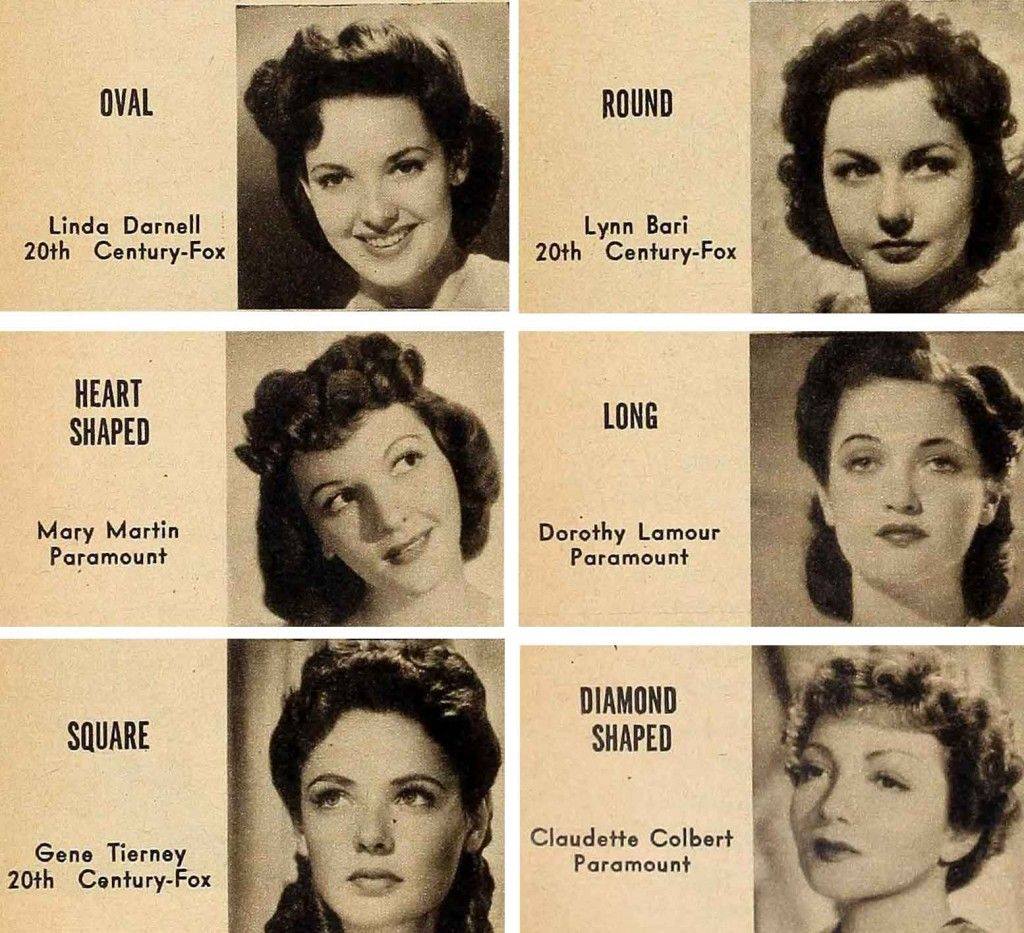 1940s-hair-and-makeup-secrets--for-your-face-type vintage fashion