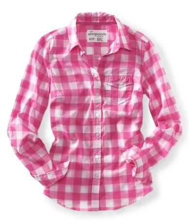 Woven Gingham Shirt