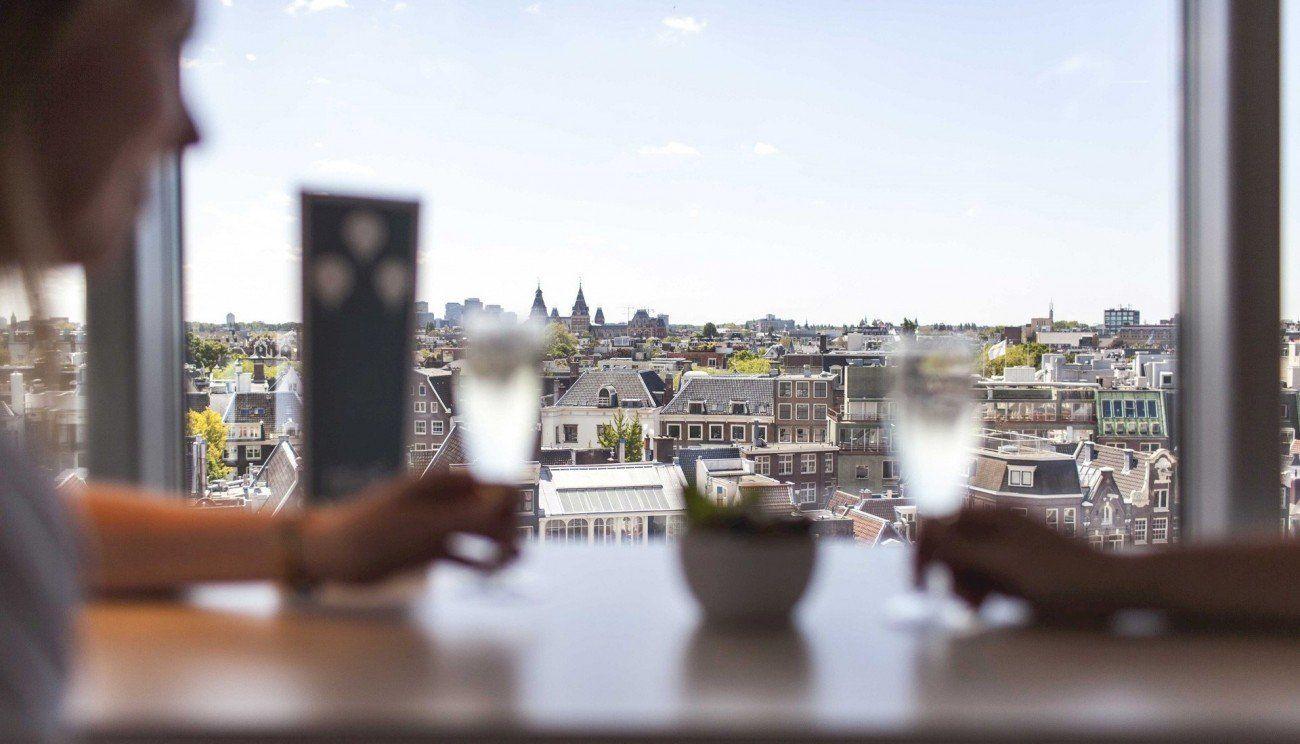 Rooftopbars Amsterdam