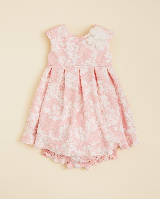 b9b03d0de4cc Pippa & Julie Infant Girls' Knit Floral Dress - Sizes 12-24 Months |  Bloomingdale's