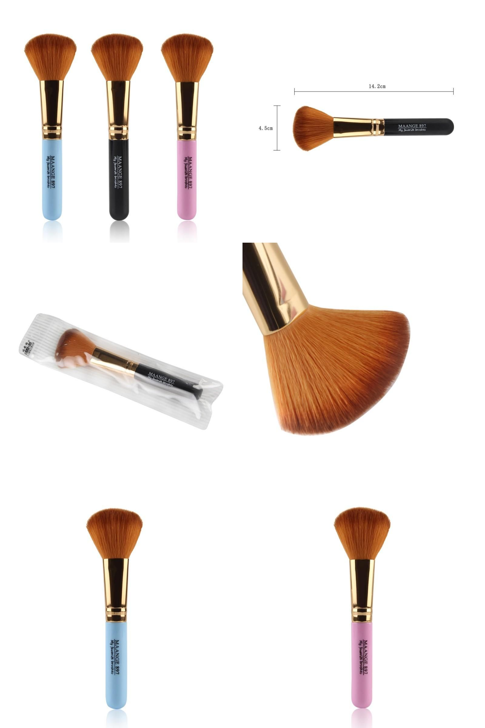 [Visit to Buy] 3 Colors Pro Soft Contour Face Powder