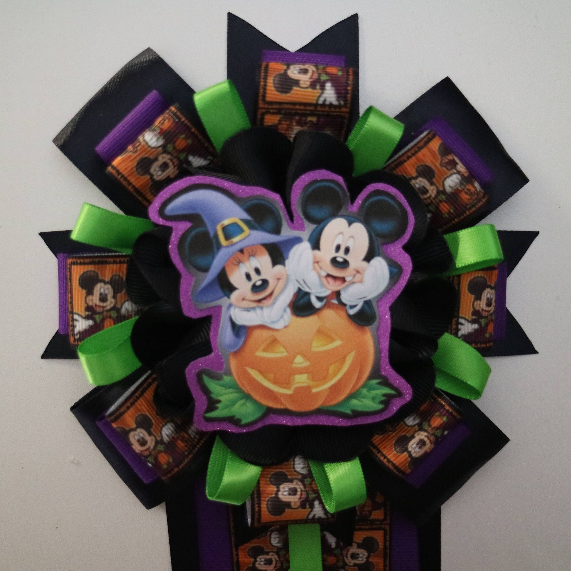 Gender Reveal Mickey & Minnie Mouse Halloween Themed Baby Shower