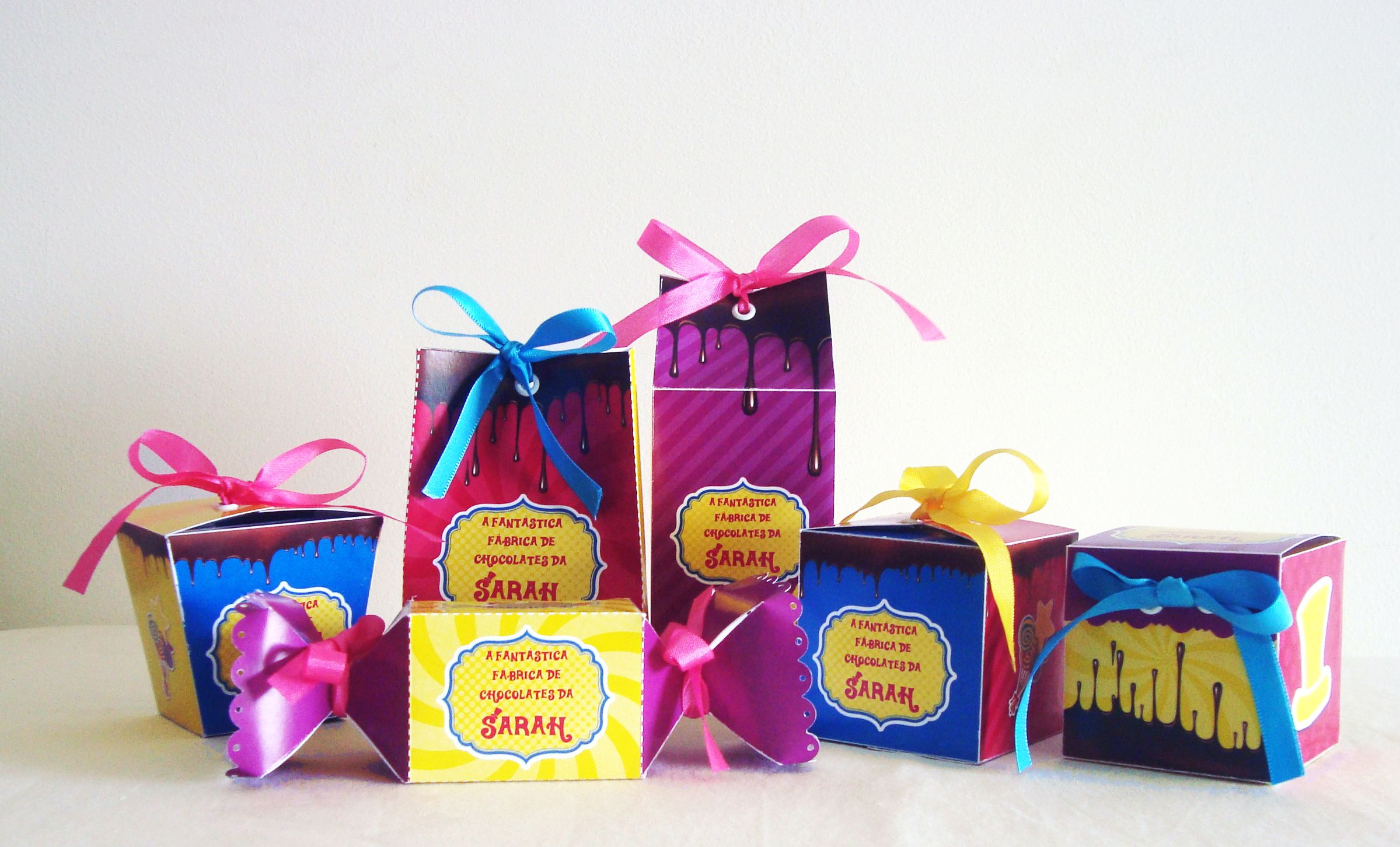Mimos Personalizados No Tema A Fantastica Fabrica De Chocolates