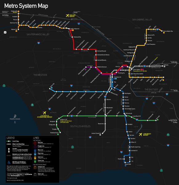 Way Better Commute These Days Metro Rail Los Angeles Metro Map Metropolitan Transportation Authority