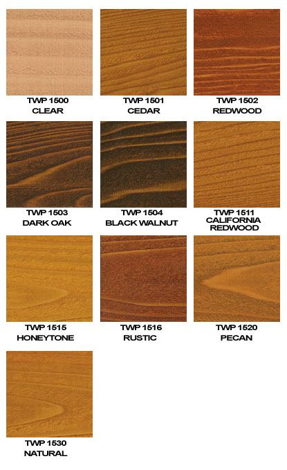 Twp 1500 Series Colors Rustic Is Color Of Choicd Deck Stain Colors Staining Deck Exterior Wood Stain Colors