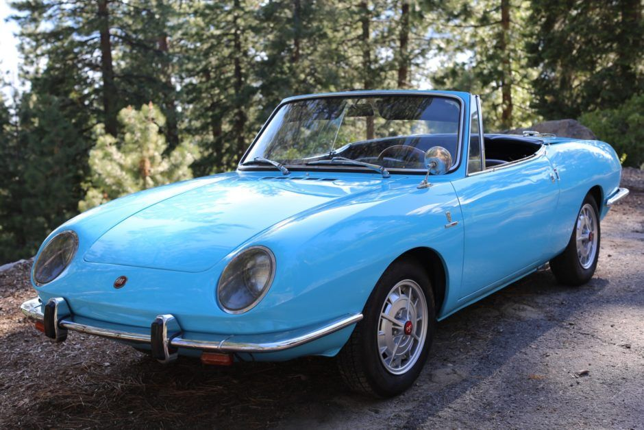 No Reserve 1967 Fiat 850 Spider With Images Fiat 850 Fiat