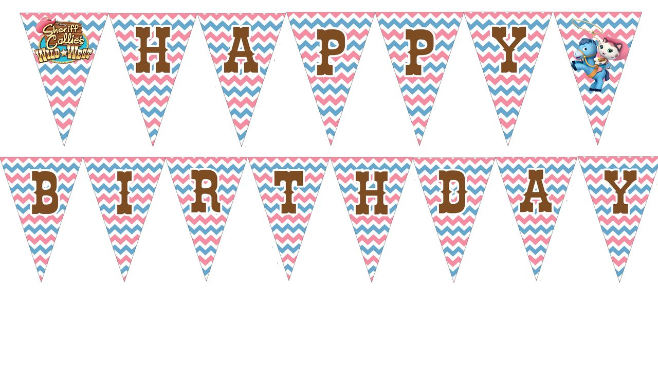 partyexpressinvitations - Sheriff Callie Birthday Banner - Sheriff Callie Birthday Supplies, $4.99 (http://www.partyexpressinvitations.com/sheriff-callie-birthday-banner-sheriff-callie-birthday-supplies/)
