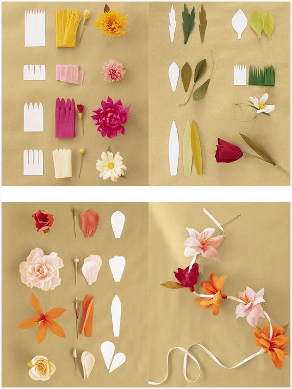 Paper flowers easy to make diy project diy ideas pinterest paper flowers easy to make diy project mightylinksfo