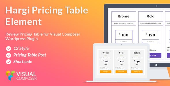 Hargi Pricing Tables ¨C Visual Composer addon by Payuplugins