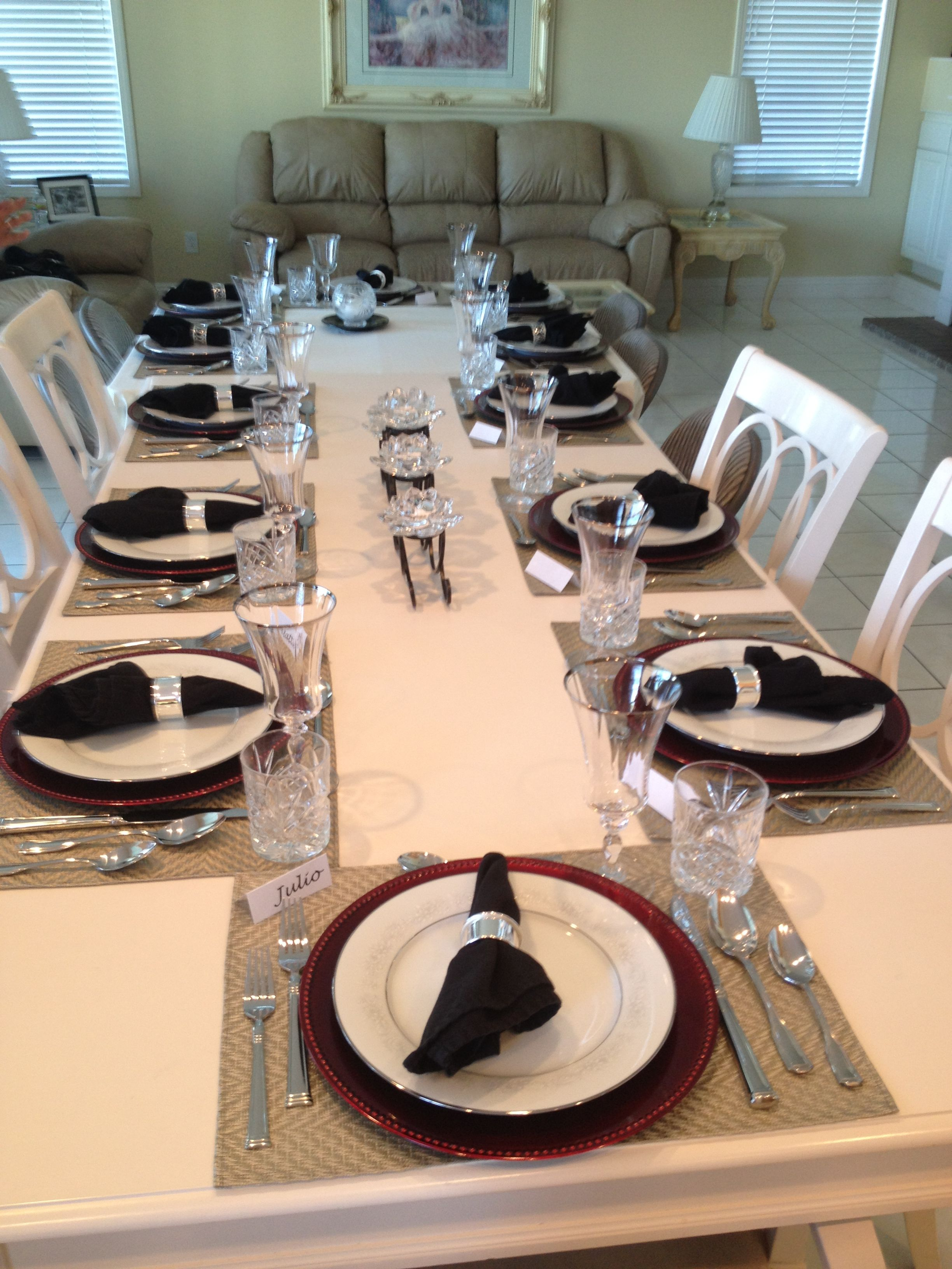 Winter Dinner Party Ideas Part - 37: Fancy Dinner Party
