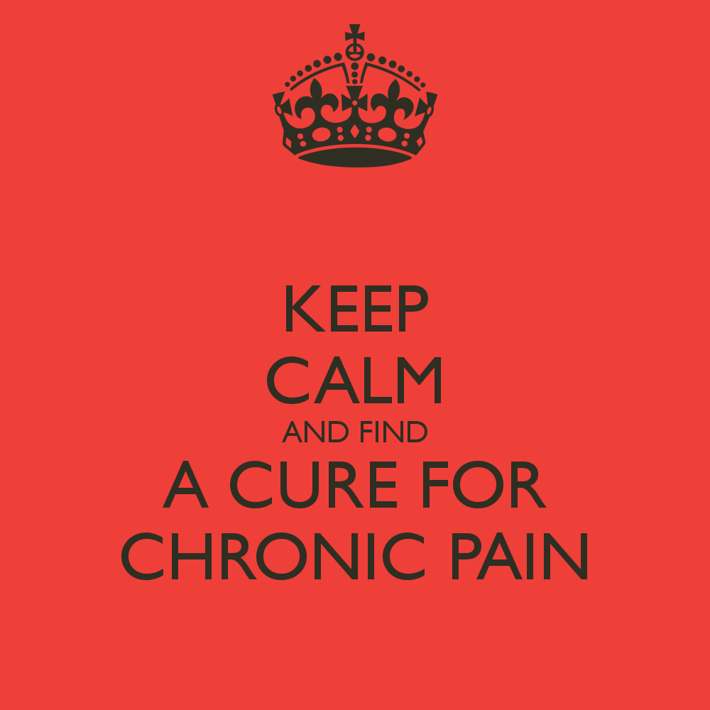 Chronic Pain Quotes Find A Cure For Chronic Pain  Please Like And Share  Patient