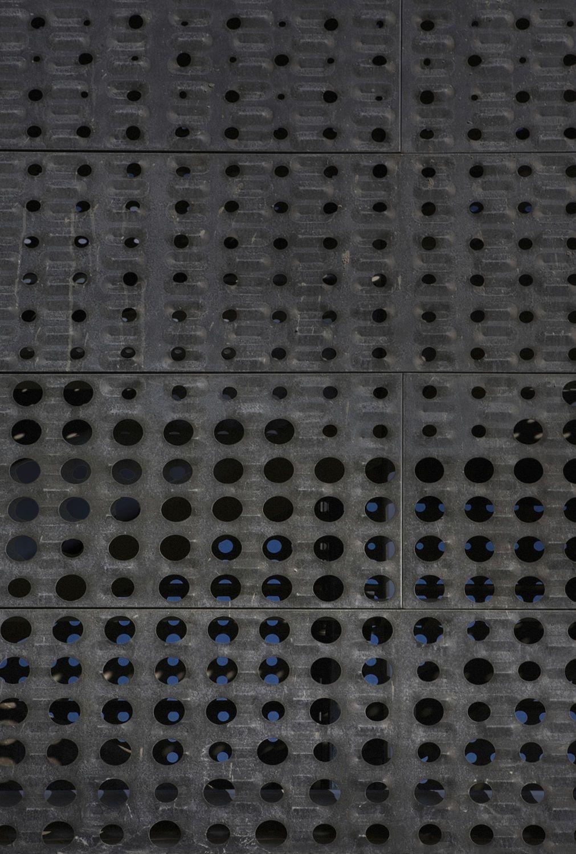Perforated Metal Sheet Decorative Zinc For Bridge Construction Power Light Bridge By Helix A Zahner Metal Sheet Zinc Sheet Metal Decor