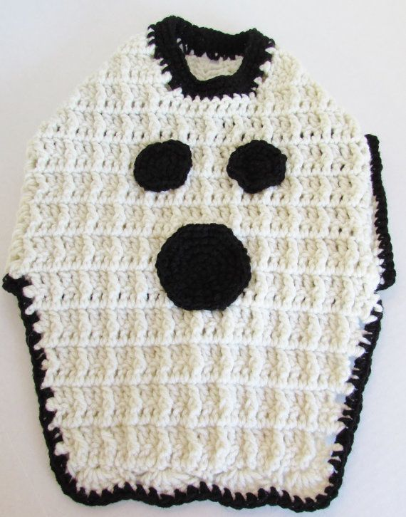 Dog Sweater, Ghost, Dog Clothes, Halloween Costume, Custom Fit, xtra ...