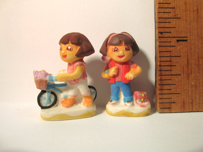 Miniature Dollhouse Doll Toy Figure DORA the explorer