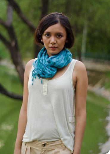 supercute tie-dye scarf | bhane