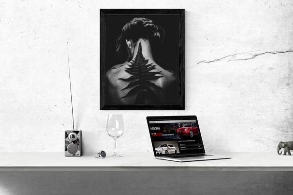 Posters In Interieur : Moderne schlafzimmer interieur foto poster wandbilder bei