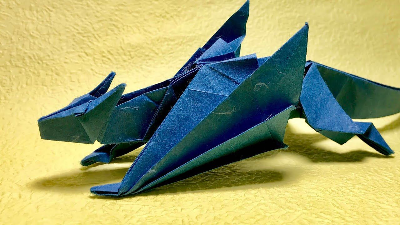 Pin By Origamime On Video Tutorials Pinterest Origami And Parrotdiagram Barth Dunkan Ecorigami Visit