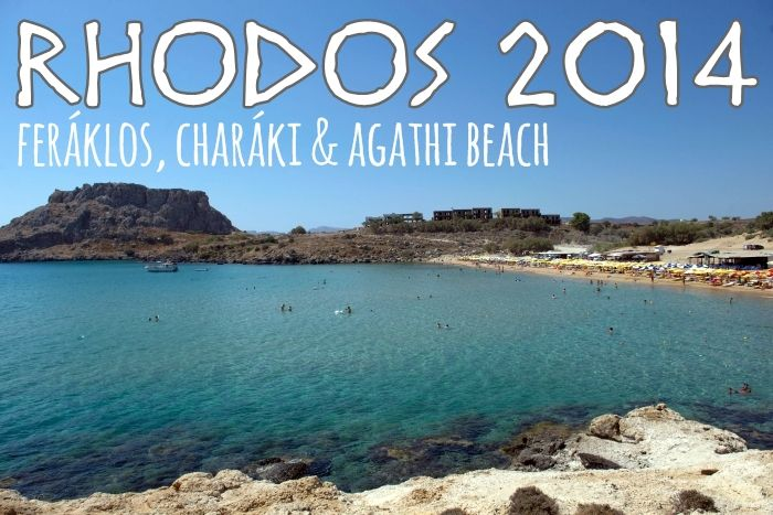 MissXoxolat's Schokoladenseiten Rhodos Agathi Beach