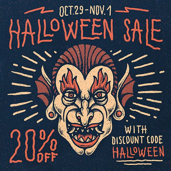 Halloween Sale on Behance