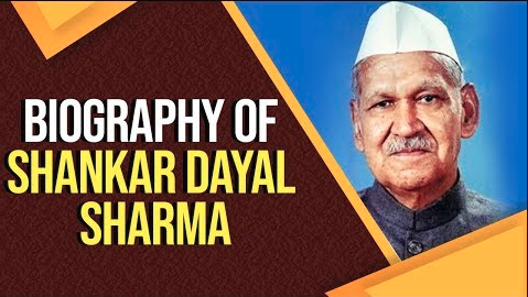 Biography of Shankar Dayal Sharma Vice president of
