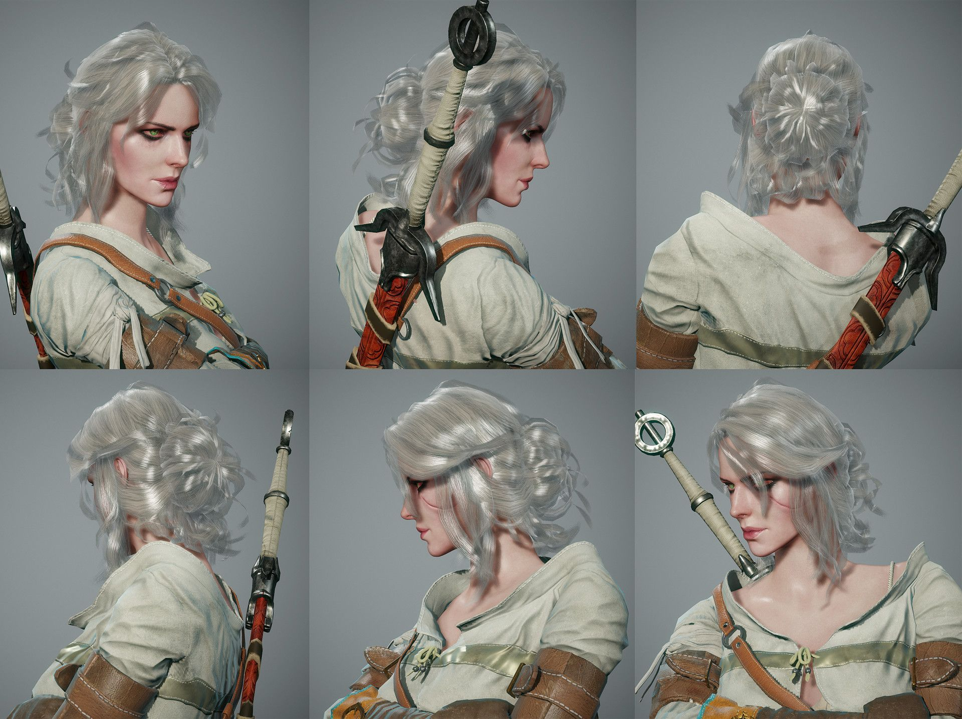 The Witcher3 Ciri Likeness Juhee Ryu Ciri Ciri Witcher Cosplay