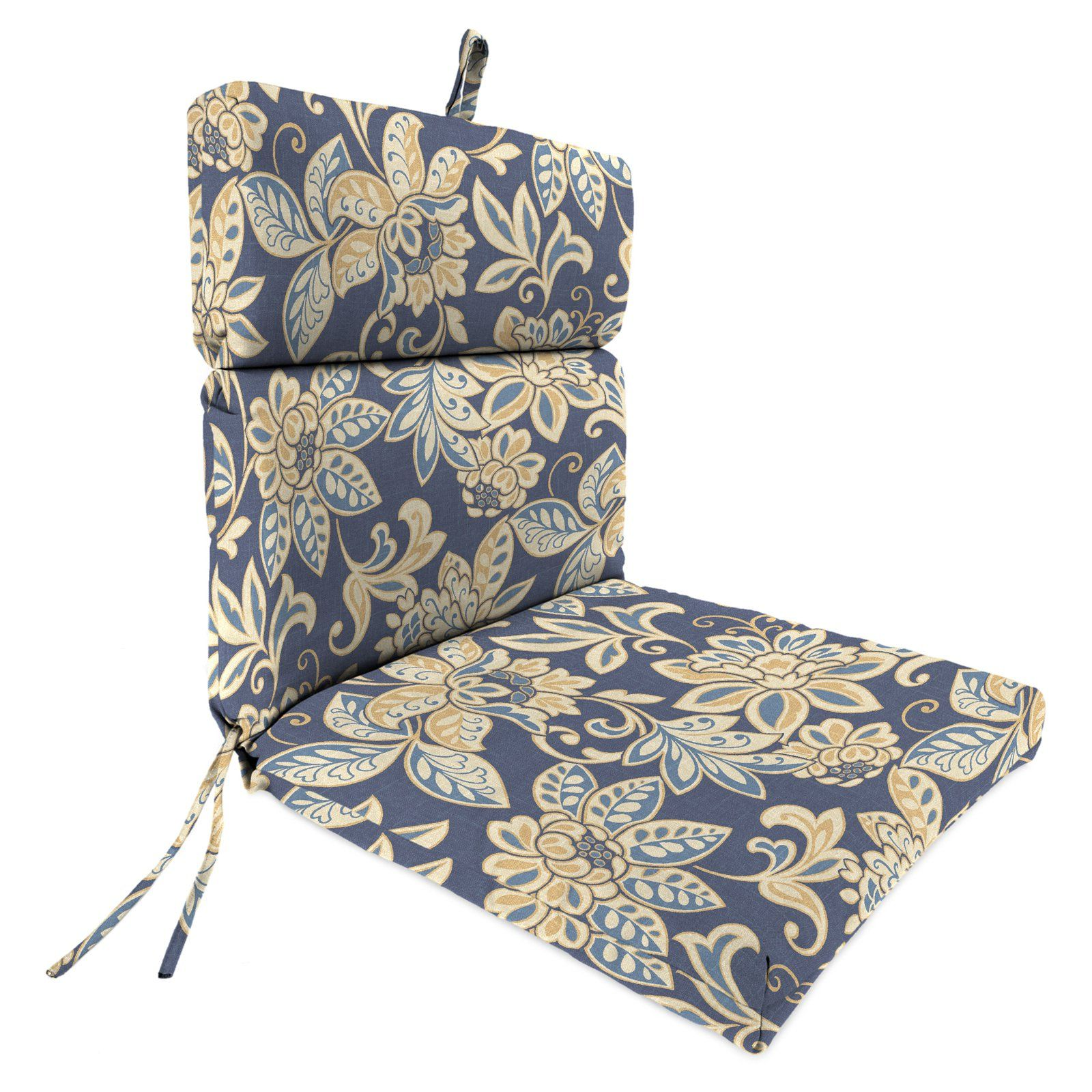 Jordan Manufacturing 44 X 22 In Outdoor Chair Cushion For The