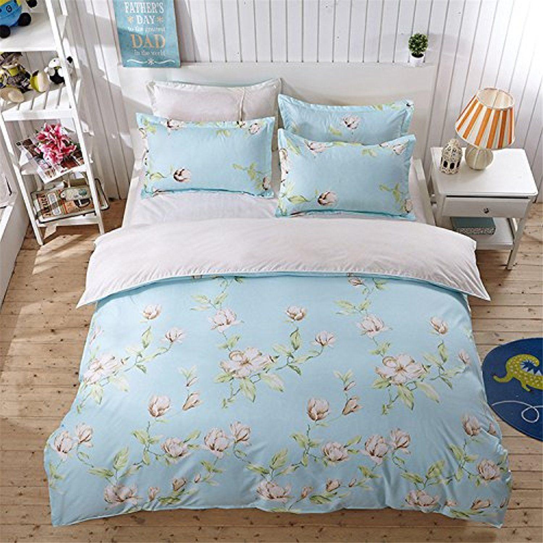 YeeKin Japanese Style Flower Printing Kids Bedding Sets