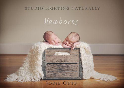 Newborn photography posing lighting workshop book