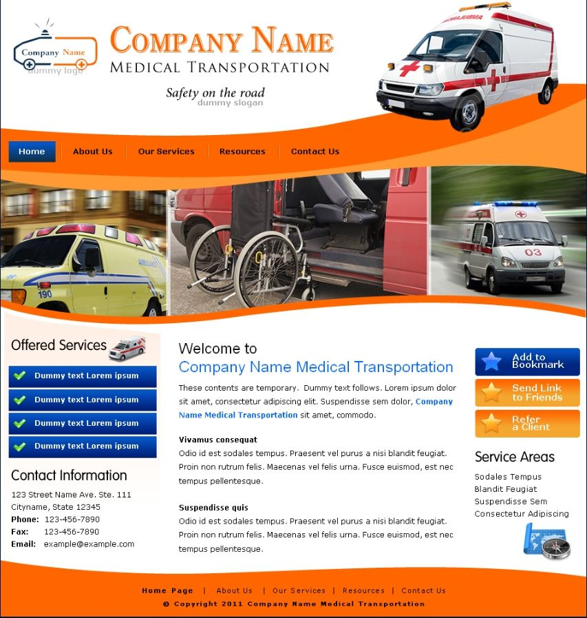 medical transportation flyers medical transportation. Black Bedroom Furniture Sets. Home Design Ideas