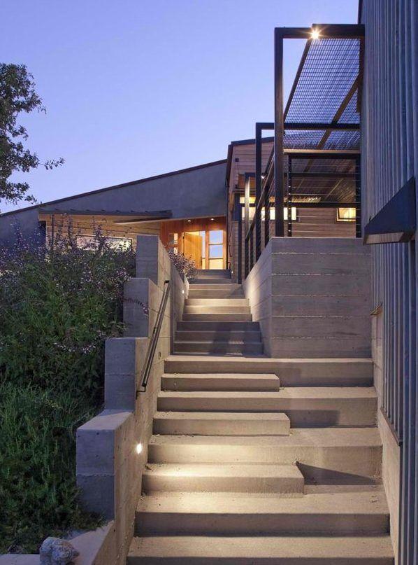 Escaleras modernas interiores y exteriores - decoRevista mis cosas
