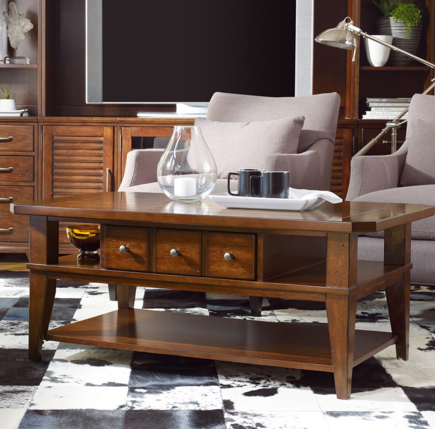 Distressed Cherry Coffee Table Cherry Coffee Table Coffee Table With Storage Furniture