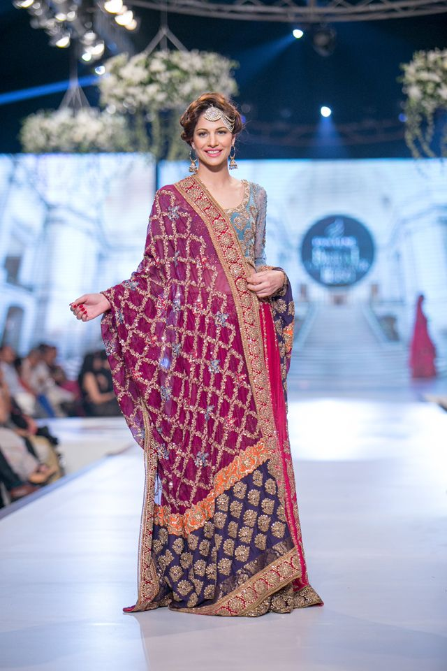 Tena Durrani Bridal Collection at PBCW 2014 Day 1