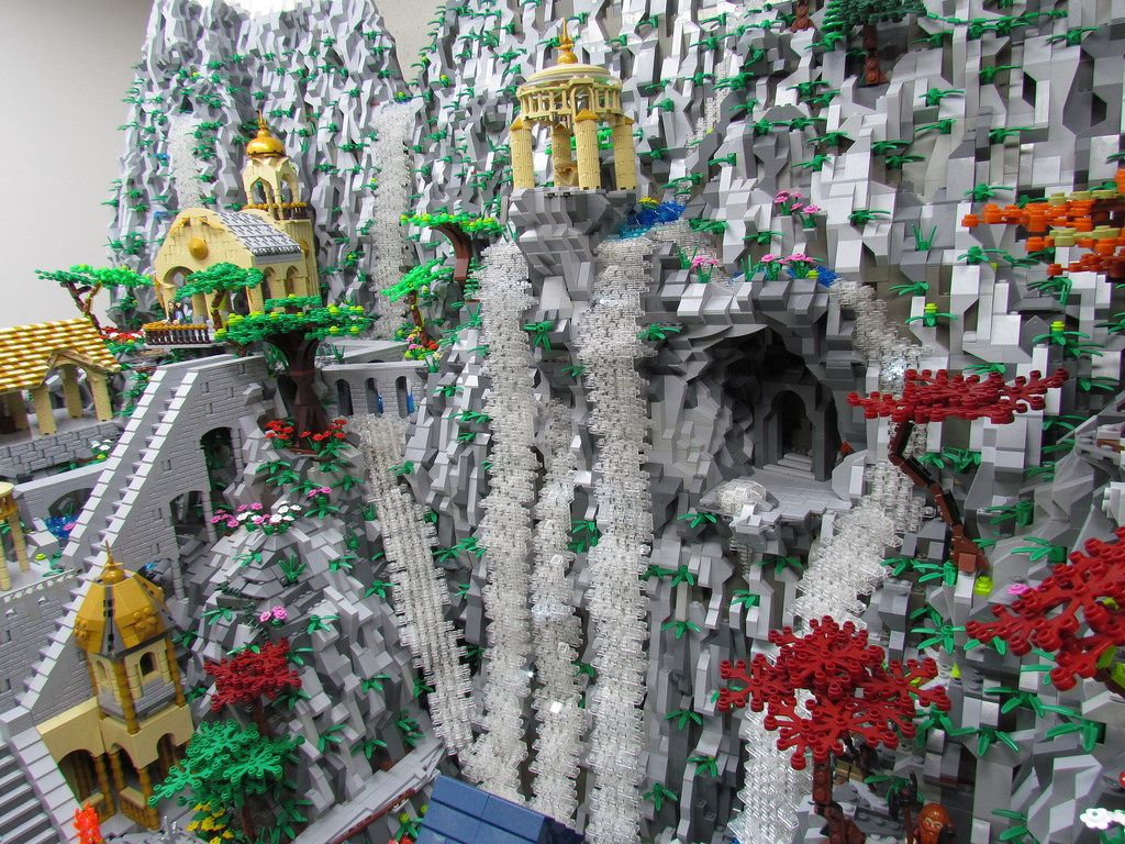 LEGO Rivendell https://ideas.lego.com/projects/91654 | by ben_pitchford
